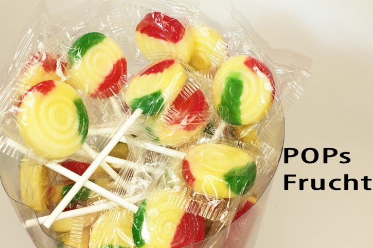 5 Pops-Frucht-Lolly