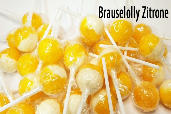 5 Brause-Kugel-Zitrone