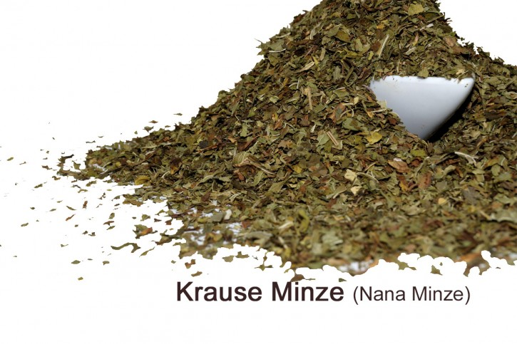 krause Minze- gerebelt - Nanaminze  aus Marokko 20g