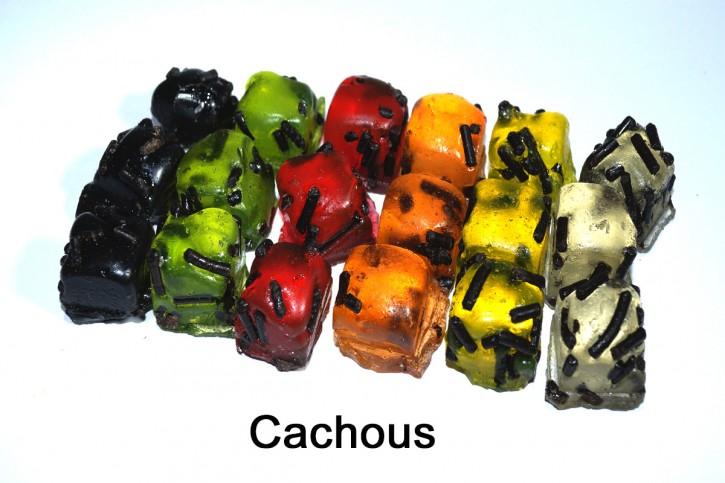 Cachous, Kräuterbonbons mit Lakritz
