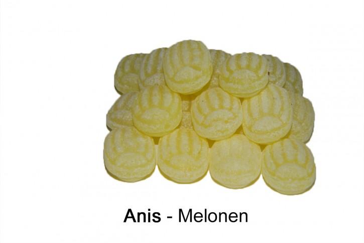 Anis Melonen Bonbons, gelb