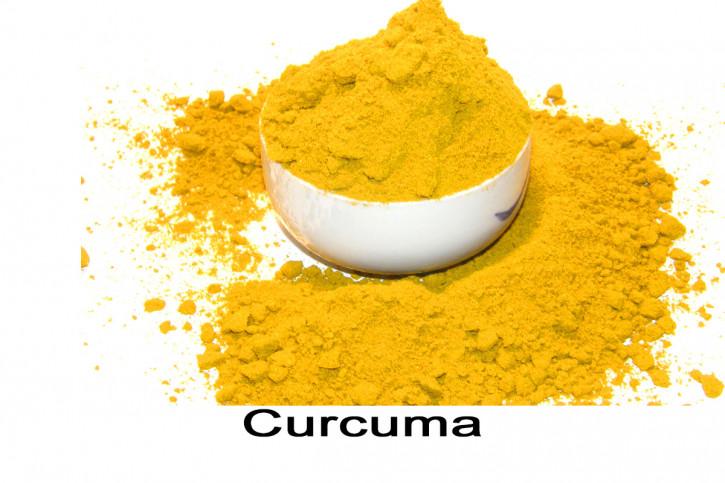 Curcuma, Kurkuma, Gelbwurz gemahlen