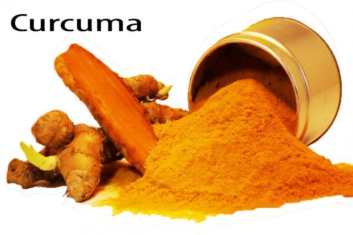 Curcuma Bio gemahlen