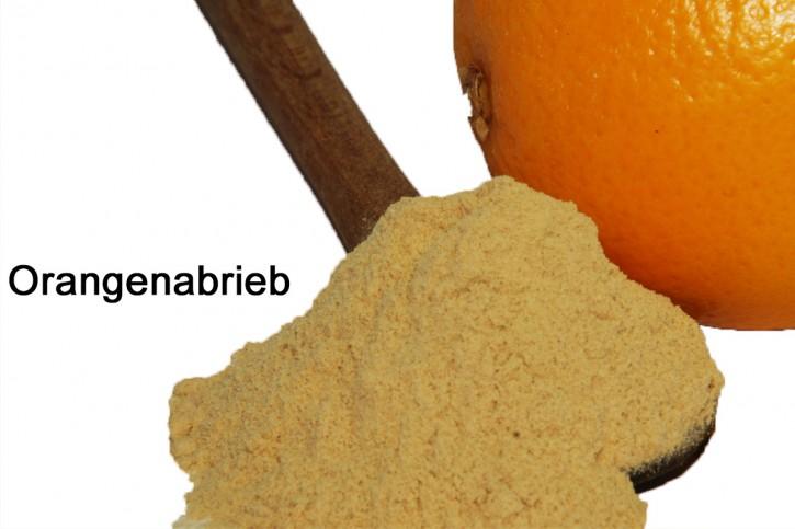 Orangenabrieb, Orangenfruchtpulver