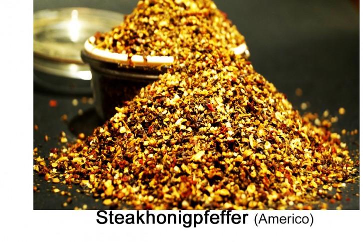 Honigpfeffer, Americano, Steakpfeffer