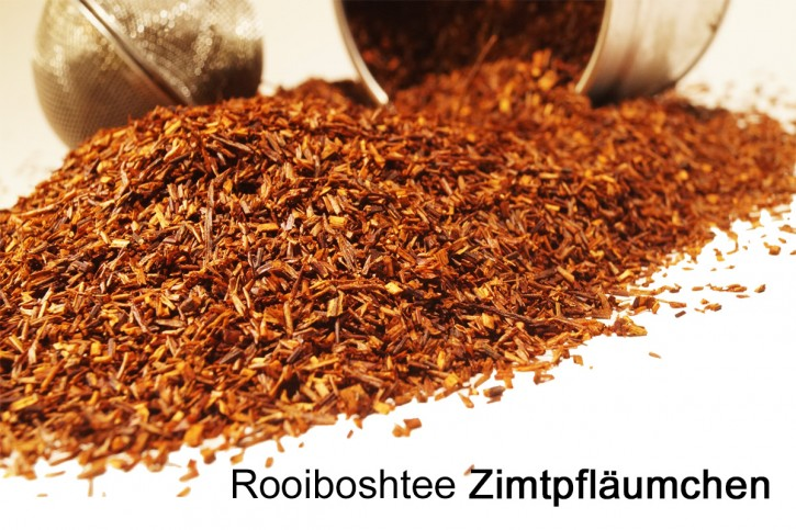 Zimtpfläumchen Rooibostee