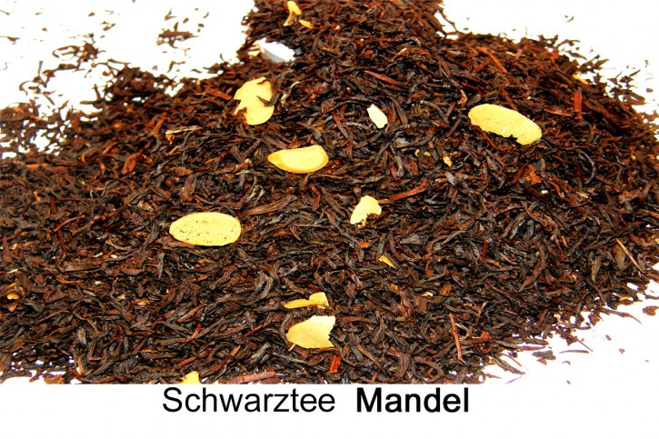 Mandel Schwarztee