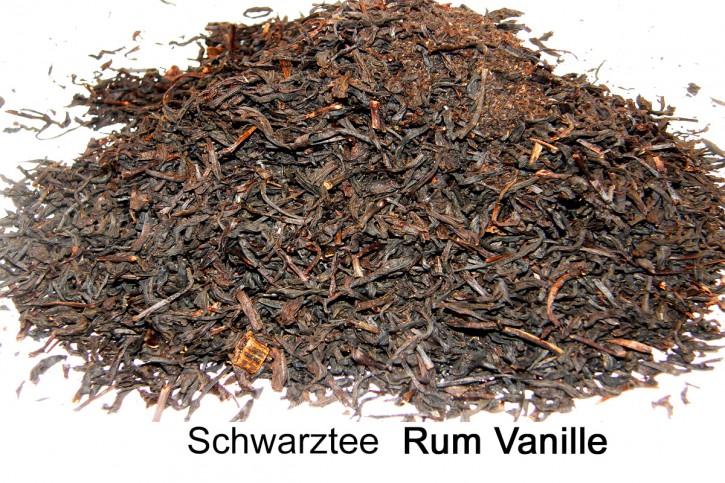 Rum Vanille Schwarztee