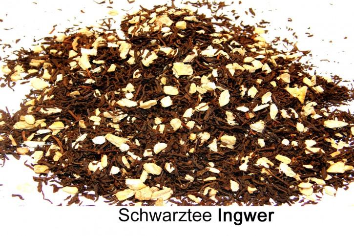 Ingwer Schwarztee