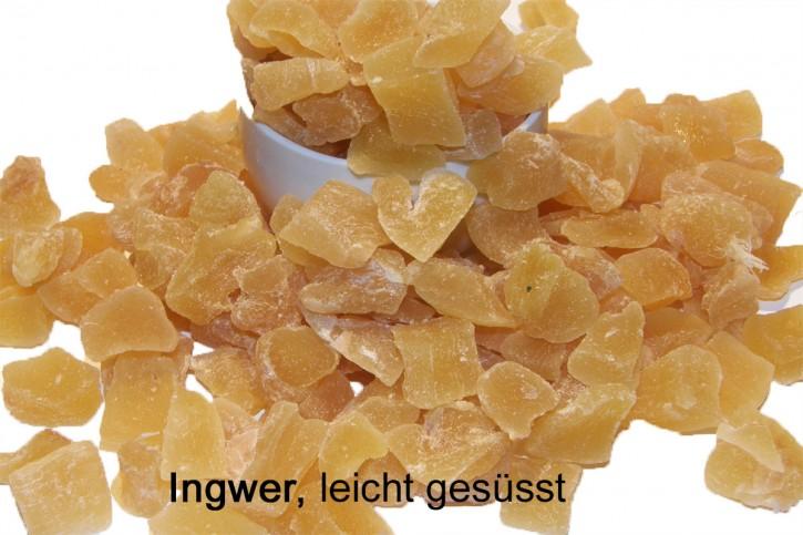 Ingwer- leicht gesüßt 250g