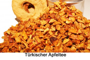 Türkischer Apfeltee- Früchtetee 1 Packung a 80g