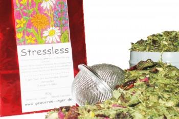 Stressless -Kräutertee 1 Packung a 80g