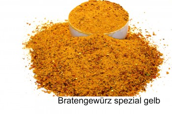 Bratengewürz-Spezial-gelb 100g