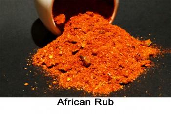 African Rub Gewürzmischung 50g