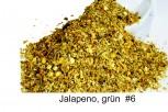 Chili- grüne Jalapeno, geschroten