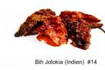 Chili  bih jolokia- Bhut jolokia- geschroten