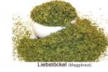 Liebstöckel bzw. Maggikraut zum Würzen von Braten, Suppen oder Gemüse