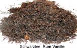 Rum- Vanille- Schwarztee