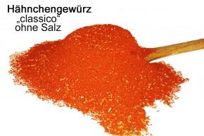 Hähnchengewürz Classico -ohne Salz 400g