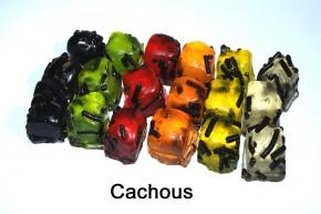 Cachous- Kräuterbonbons mit Lakritz
