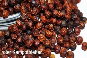 roter Kampot-Pfeffer