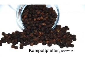 schwarzer Kampot-Pfeffer