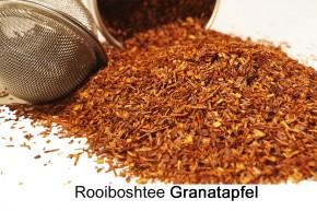 Granatapfel- Sahne- Rooibuschtee